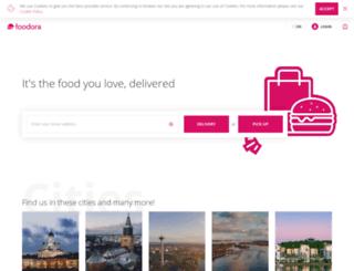 foodora.fi screenshot