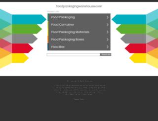 foodpackagingwarehouse.com screenshot