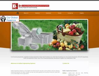 foodprocessingequipments.in screenshot