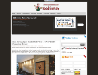 foodpromotionsreview.blogspot.com screenshot