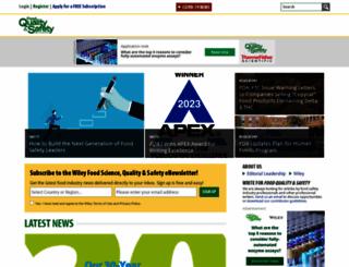 foodqualityandsafety.com screenshot