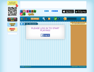 foodquiz.veenx.com screenshot