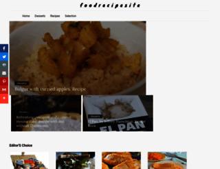 foodrecipesite.com screenshot