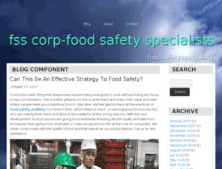 foodsafetyspecialists1.bravesites.com screenshot