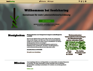 foodsharing.de screenshot