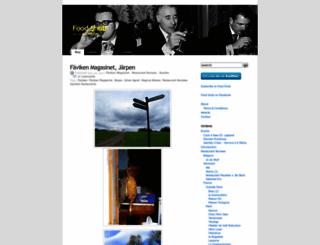 foodsnobblog.wordpress.com screenshot