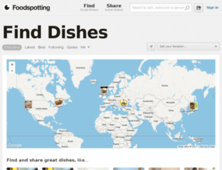 foodspotting.net screenshot