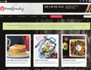 foodspreading.com screenshot