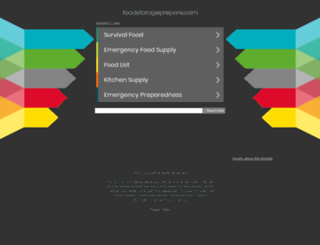 foodstorageprepare.com screenshot
