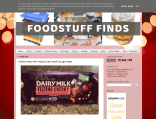 foodstufffinds.blogspot.com screenshot