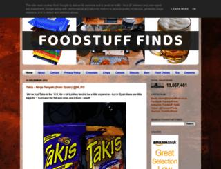 foodstufffinds.co.uk screenshot