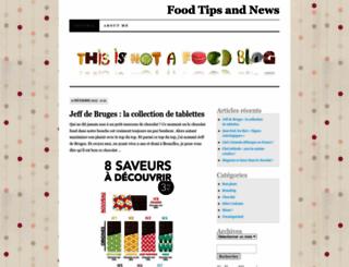 foodtipsandnews.wordpress.com screenshot