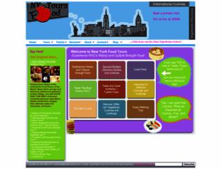 foodtoursofny.com screenshot