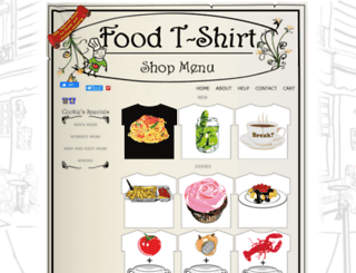 foodtshirt.com screenshot