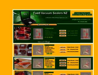 foodvacuumsealers.co.nz screenshot