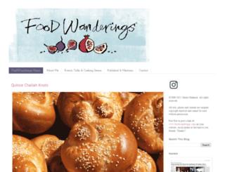 foodwanderings.blogspot.com screenshot