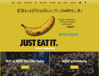 foodwastemovie.com screenshot