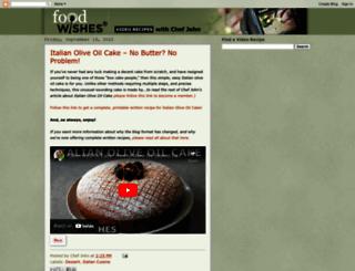 foodwishes.blogspot.ca screenshot