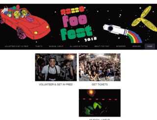 foofest.as220.org screenshot