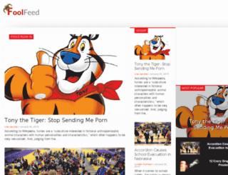 foolfeed.com screenshot