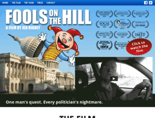 foolsonthehillmovie.com screenshot
