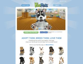 foopets.com screenshot