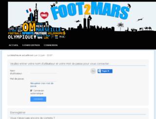 foot2mars.com screenshot
