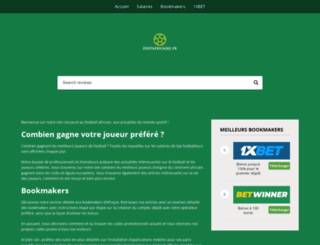 footafrica365.fr screenshot