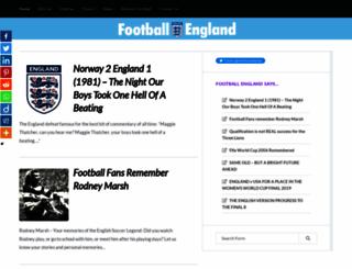 football-england.com screenshot