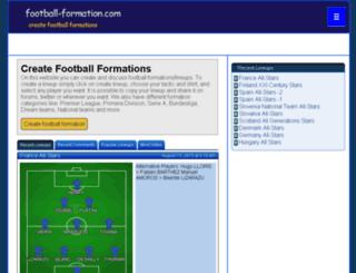 football-formation.com screenshot