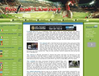 football-live.net screenshot