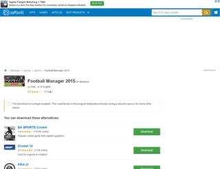 football-manager-2015.en.softonic.com screenshot