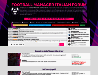 football-manager.forumcommunity.net screenshot