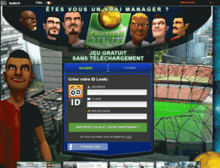 football-masters.fr screenshot
