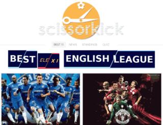 football-news.scissorkick.net screenshot