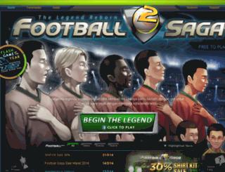 football-saga.com screenshot