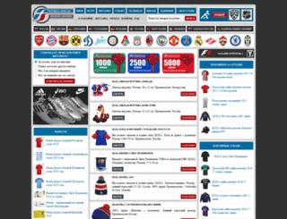 football-shop.su screenshot
