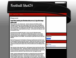 football-shot24.blogspot.com screenshot