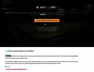 football-stream.co.uk screenshot