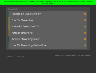 football-streaming.cc screenshot