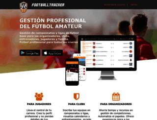 football-tracker.com screenshot