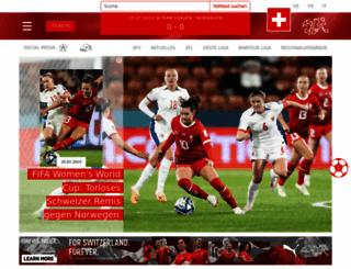 football.ch screenshot