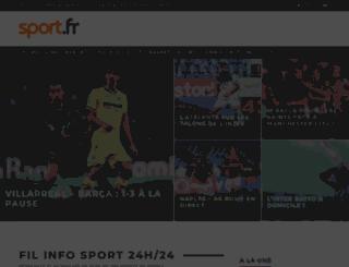 football.sport.fr screenshot
