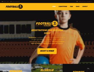 football7s.org.nz screenshot