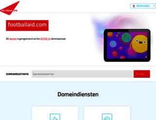 footballaid.com screenshot