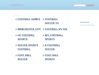 footballalive.org screenshot