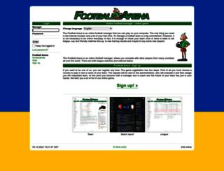 footballarena.org screenshot