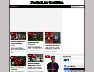 footballauquotidien.blogspot.com screenshot
