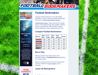 footballbookmakers.co.uk screenshot