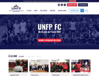 footballeurspros.fr screenshot